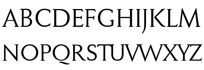 FaberDrei-Normalreduced Font UPPERCASE