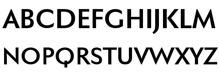 FaberSansPro-Halbfett Font UPPERCASE