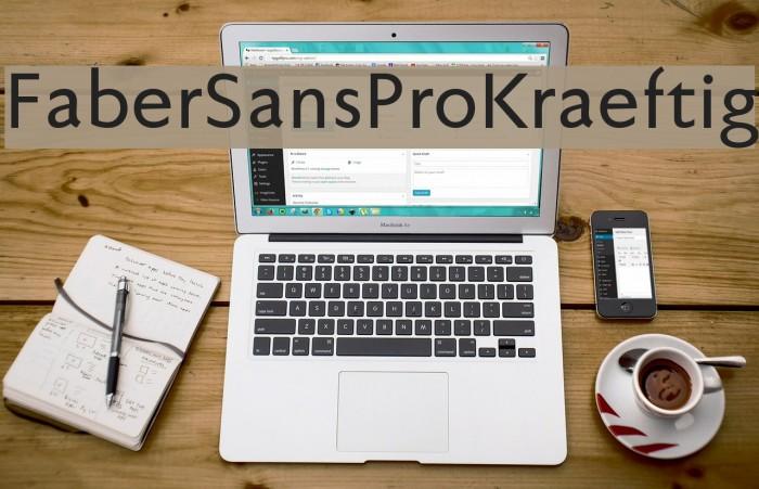 FaberSansPro-Kraeftig Font examples