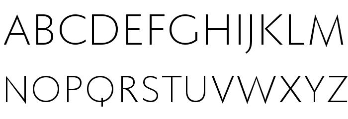 FaberSansPro-Leicht Font UPPERCASE