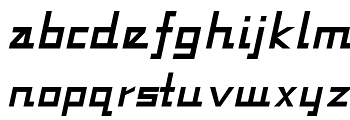 Fabian-Regular Font LOWERCASE