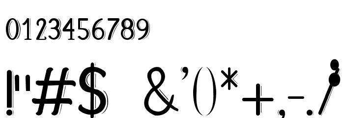 Fabula Шрифта ДРУГИЕ символов