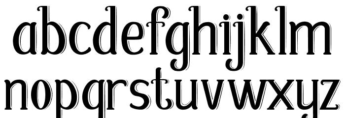 Fabula Шрифта строчной