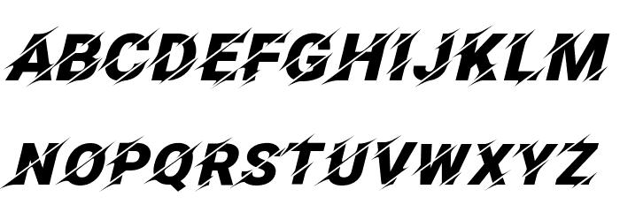 Facon Font UPPERCASE
