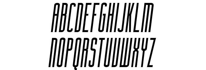 FacundaAlternate-Italic フォント 大文字