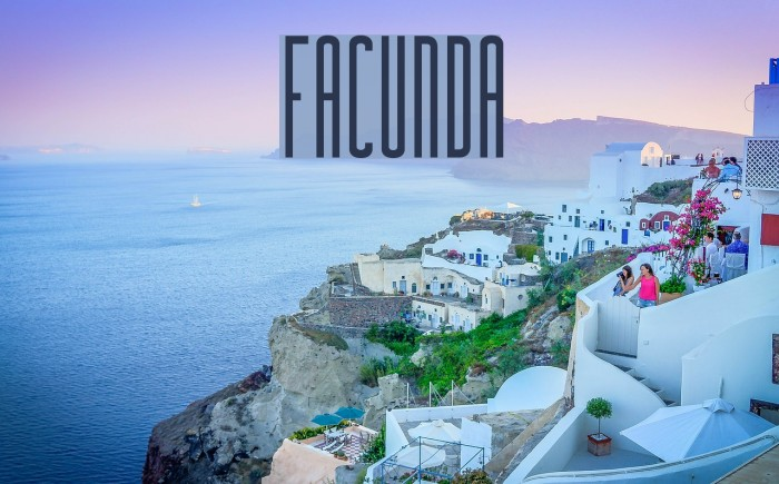 Facunda Шрифта examples