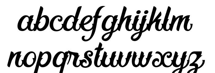Fadli Script Шрифта строчной