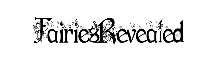 Fairies Revealed  Free Fonts Download