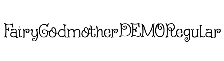 Fairy Godmother DEMO Regular  Free Fonts Download