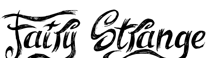 Fairy Strange  Free Fonts Download
