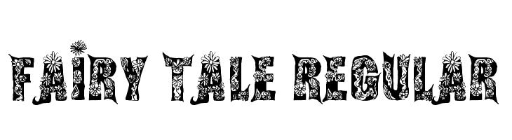 Fairy Tale Regular  Free Fonts Download
