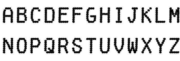 fake receipt font