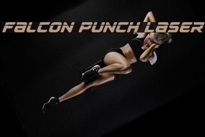 Falcon Punch Laser Fonte examples