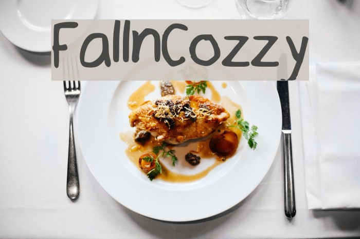 Fall_n_Cozzy Font examples