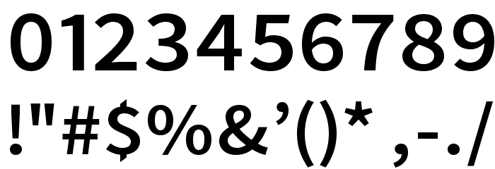 Falling Sky Extended Font OTHER CHARS