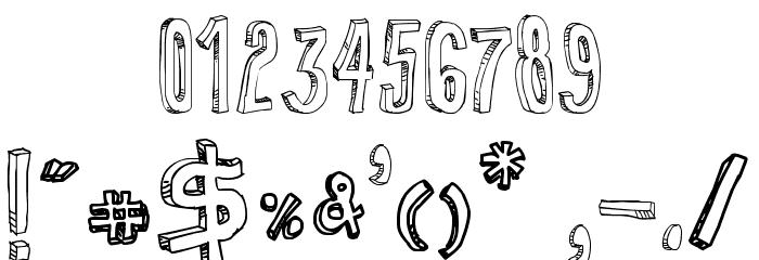 3d letter fonts