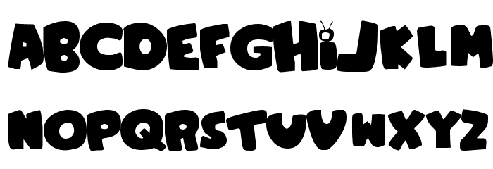 Family Guy Font UPPERCASE
