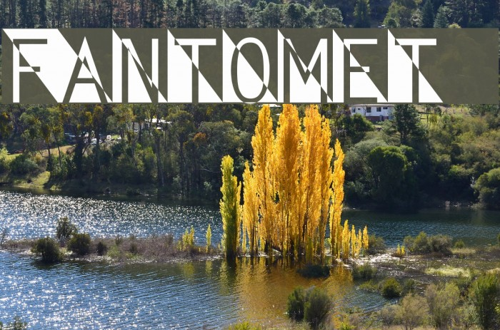 Fantomet 2 Font examples