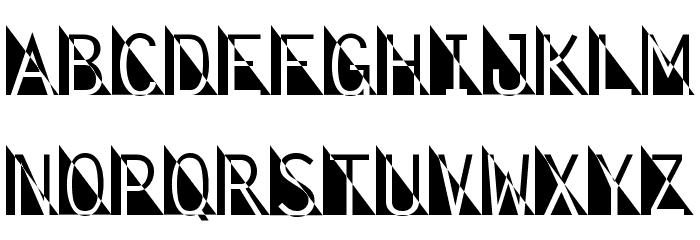 Fantomet Font LOWERCASE