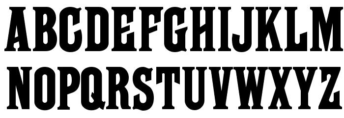 Farley MF Font UPPERCASE