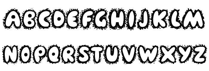 Farty Breath Font LOWERCASE