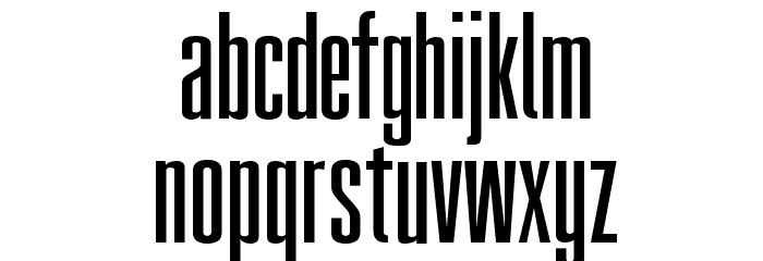 FatCow Font LOWERCASE