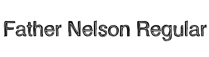 Father Nelson Regular  नि: शुल्क फ़ॉन्ट्स डाउनलोड