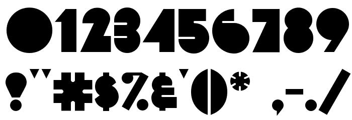 FattiPattiFLF-Bold Font OTHER CHARS