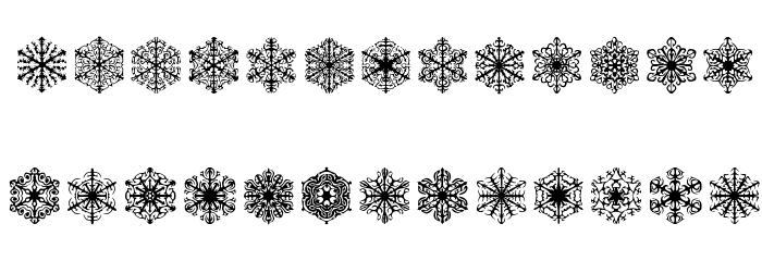 Faux Snow BRK Font Litere mici