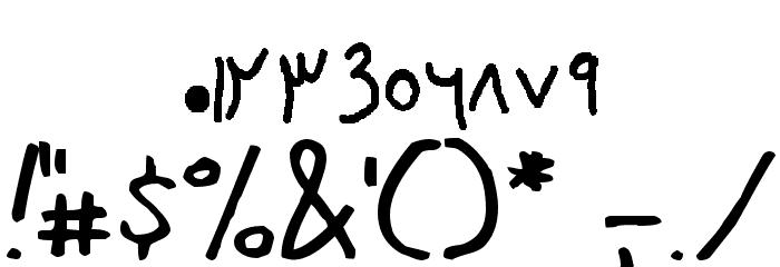 farsi family 字体 其它煤焦