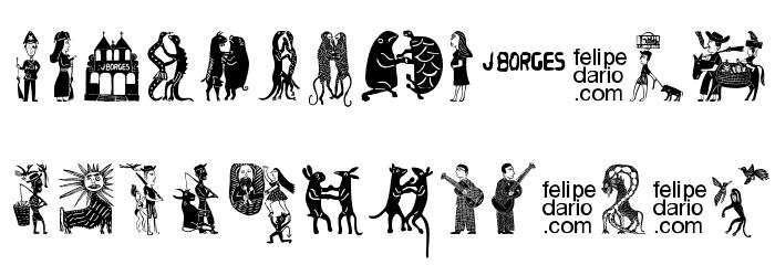 FD J Borges Font LOWERCASE