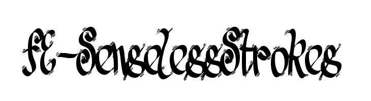 FE-SenselessStrokes  font caratteri gratis