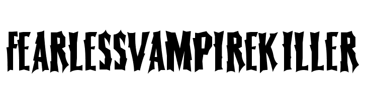 FearlessVampireKiller  नि: शुल्क फ़ॉन्ट्स डाउनलोड