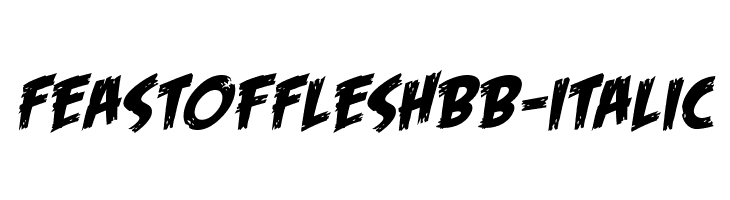 FeastofFleshBB-Italic  baixar fontes gratis