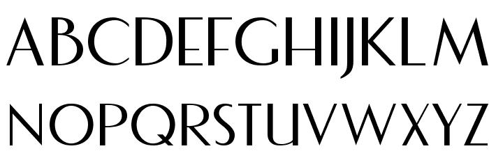 Fecske Font UPPERCASE