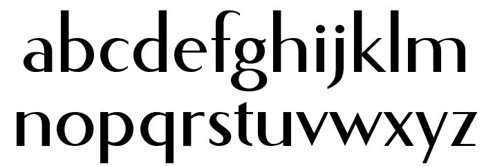 Fecske Шрифта строчной
