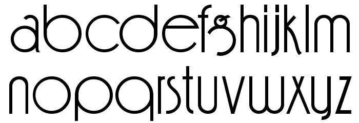Feena Casual Font LOWERCASE