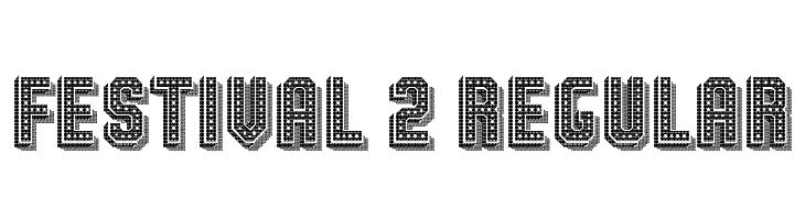 Festival 2 Regular  Free Fonts Download