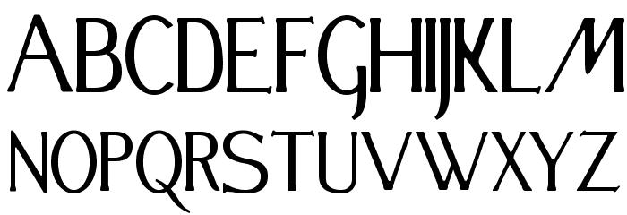 Festival Font UPPERCASE