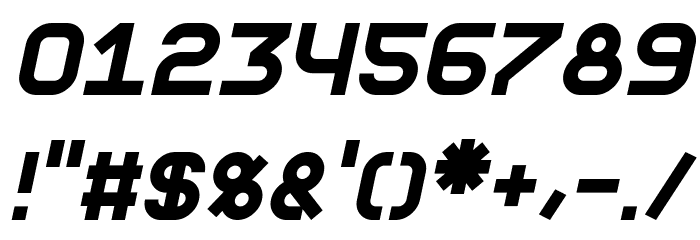 Fewt Bold Italic Font OTHER CHARS