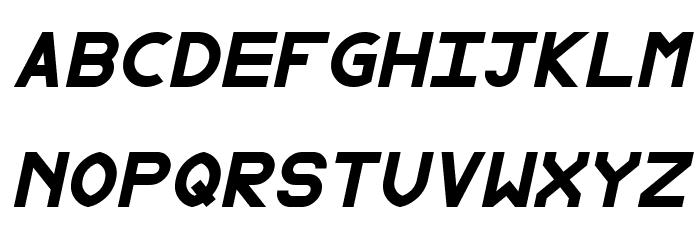 Fewt Bold Italic Шрифта ВЕРХНИЙ