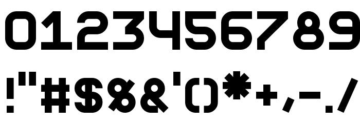 Fewt Bold Шрифта ДРУГИЕ символов