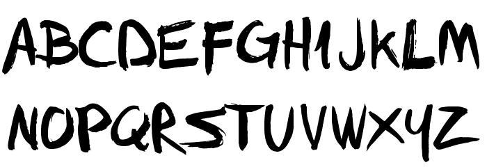FFAD Matro Font Litere mari