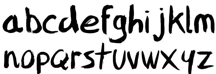 FFAD Matro Font Litere mici