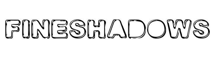 FINE SHADOWS  免费字体下载
