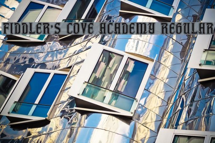 Fiddler's Cove Academy Regular Font examples