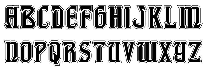 Fiddler's Cove Academy Regular Font LOWERCASE
