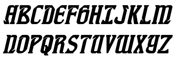 Fiddler's Cove Bold Italic Font UPPERCASE