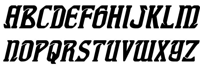 Fiddler's Cove Bold Italic Font LOWERCASE