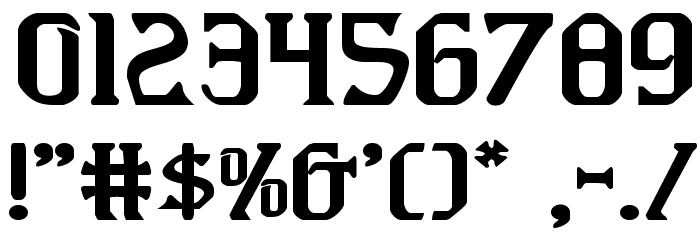 Fiddler's Cove Expanded Font OTHER CHARS